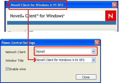 novell1 InterCLASS   Remote Log On for Novell Client
